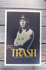 Trash Lobby Card Movie Poster Andy Warhol