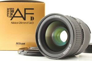 【TOP MINT in BOX】 Nikon AF NIKKOR 28mm f1.4 D Wide Angle Lens F Mount from JAPAN