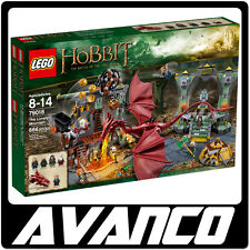 LEGO The Hobbit The Lonely Mountain 79018 Smaug Bilbo BRAND NEW SEALED RETIRED!