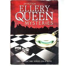 Ellery Queen Mysteries DVD 6-Disc Set Classic NBC Series TV Show Jim Hutton 2010