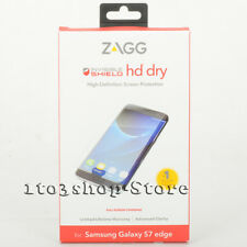 Zagg Invisible Shield Hd Dry Screen Protector For Samsung Galaxy S7 Edge NEW