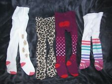 BABY GIRL 6-12 TIGHTS LOT OLD NAVY TCP THE CHILDRENS PLACE GYMBOREE LEOPARD DOT