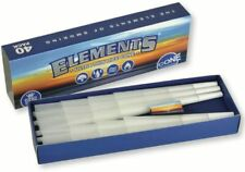 NEW Elements King Size Ultra Thin Rice Cones Pre Rolled Rolling Paper 40 PACK