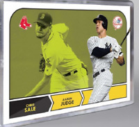 2018 Topps FROM TBT Set 3 ONLY Card #14 Aaron Judge Chris Sale Face-off 1968 NHL