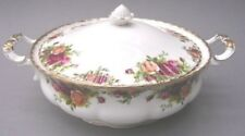 """ROYAL ALBERT """" OLD COUNTRY ROSES """" LIDDED VEGETABLE  DISH / TUREEN - ENGLAND"""
