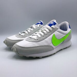 Nike Mens 9.5 Womens 11 Daybreak White Electric Green Sneakers Shoes DJ2747-100