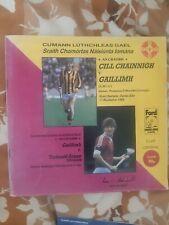 GAA :  1986 Hurling league final GALWAY V kilkenny