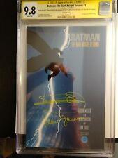BATMAN THE DARK KNIGHT RETURNS 1 CGC 9.8 SS Signed by MILLER & JANSON 2nd Print