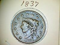 1837 Matron or Liberty Head Large Cents Lot A