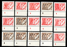 Slovenia Stamps # J24-38 VF OG LH
