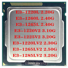 Intel Xeon E3-1220L E3-1260L E3-1265L E3-1220V2 E3-1225V2 E3-1220LV2 CPU
