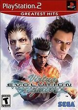 Virtua Fighter 4: Evolution (Sony PlayStation 2, 2003) Greatest Hits *COMPLETE*