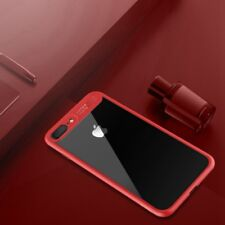 ORIGINAL ROCK Funda carcasa para Apple iPhone 7 Plus / 8 PROTECTORA ESTUCHE ROJO