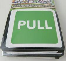"""4pc Pull Porte Autocollants, Sticker en vert, Carré Environ 3"""""""