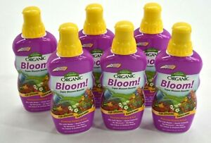 6 Pack Espoma BL18 Organic Bloom Super Blossom Booster Flower Fruit Growth 18 oz