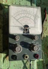 Vintage Heathkit Vacuum Tube Voltmeter Vtvm Model V 7a Beautiful Condition