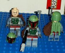 LEGO Star Wars Minifigure BOBA FETT ONE w Jetpack Pauldron Blaster 8097 Minifig