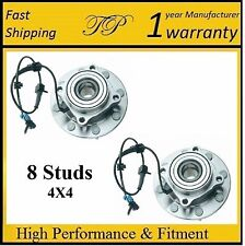 Front Wheel Hub Bearing Assembly for GMC Sierra 2500 HD (4WD) 2001 - 2006 (PAIR)