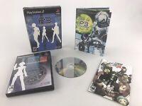 Shin Megami Tensei Persona 3 P3 - PS2 - Game Complete! No DVD! No Scratches!