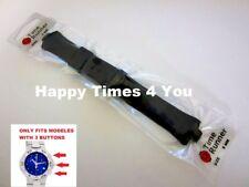 Tag Heuer Kirium Rubber Watch Band Strap Bracelet Replacement