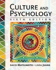 Culture and Psychology by Linda Juang, David Matsumoto (Hardback, 2016)