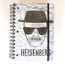"Heisenberg Breaking Bad Journal Notebook Diary Stationery 8.25 x 6.5"""