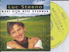 LUC STEENO - Mooi zijn alle vrouwen CD SINGLE 2TR CARDSLEEVE 1997 BELGIUM