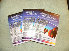 """Special Moments Photo Paper for Ink jet Printers 3 - 20 sheets 4"""" x 6"""" - Eb8"""