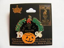 Happy Halloween 1996 Atlanta Olympics Pin Officially Licensed