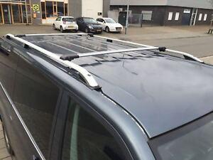 VW T5 T6 KURZES 2003+ Aluminium Dachreling und Querträger