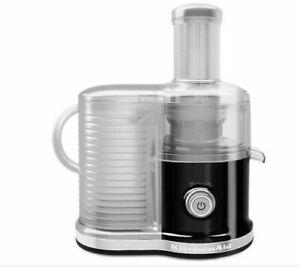BNIB KitchenAid KVJ033QG Easy Clean Centrifugal Juicer in Black