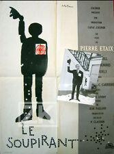 LE SOUPIRANT Photo + Aff Pierre ETAIX Film Cible Tir André FRANCOIS 1962