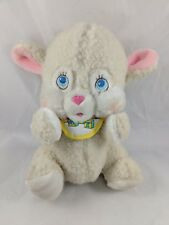 """Amtoy Baby Soft Touch Lamb Plush Musical Wind Up American Greetings 9"""" 1983"""