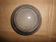 LUCAS L489 CLEAR WHITE GLASS LENS MORRIS, WOLSELEY ETC