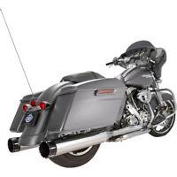"Harley S&S Cycle Mk 45 Escape Touring 17-20 Cromo Deslizarse On 4,5"" con Tüv"
