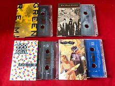 Alternative Rock Cassette Tapes - Black Crowes, Green day, Goo Goo Dolls, Rem