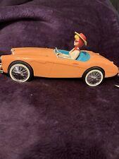 Barbie 1996 Austin Healy Model 1962 Car Alarm Clock Am Fm Radio Works w Figure