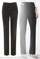 neuf taille haute pantalon vêtement de Travail Ecole coupe droite 6 8 10 12 14