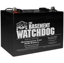 Sump Pump Battery, Maintenance Free (AGM) Standby Emergency Pump Battery Backup