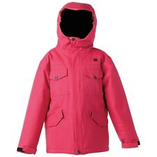 Youth Girl's DC Shoes Arcadia K Ski Snow Snowboard Winter Jacket Pink Size L