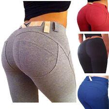 Damen High Waist Super Stretch Jeans Hose Röhre Röhrenjeans Übergröße