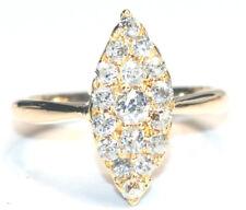 ANTIQUE Diamond Ring  Victorian  Genuine  18ct Yellow Gold  0.83ct of Diamonds