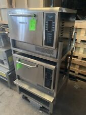 Set Of 2 Turbochef Tornado Ngc Convection Oven With Stand On Wheels Works 230v 1