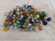 VINTAGE LOT of 80 MARBLES