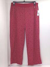 Nautica Sleepwear Pajama Pants Jester Red Hearts Women s Size XL H4kp25 68500b3b0