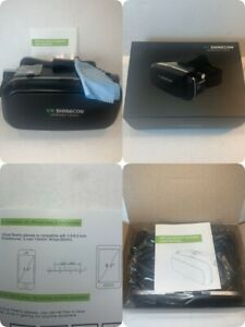 """VR SHINECON Virtual Reality Glasses Headset Fits 3.5-6"""" Smartphones   NEW In Box"""