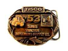 Vintage TISCO 53 Years All Makes All Parts  Belt Buckle