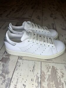 adidas Stan Smith Size 6 Silver And White