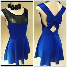 Body Con Twelfth and Towne Cobalt Blue Fit & Flare  Size Sm B14