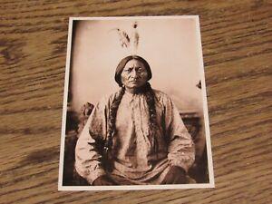 Sitting Bull Photograph by David F Barry Postcard (HWBS)